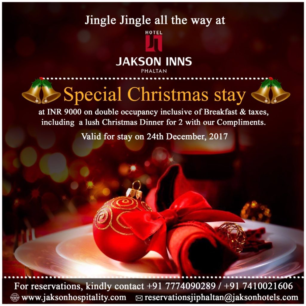 Christmas Celebration at Hotel Jakson Inns, Phlatan