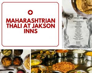 Maharashtrian Thali at Jakson Inns