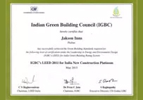 IGBC fellow award