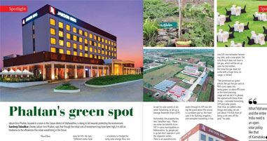 Hotel Jakson Inns Phaltan featuring on HRA Today Magazine April 2019 Issue ( Page18 & 19 )